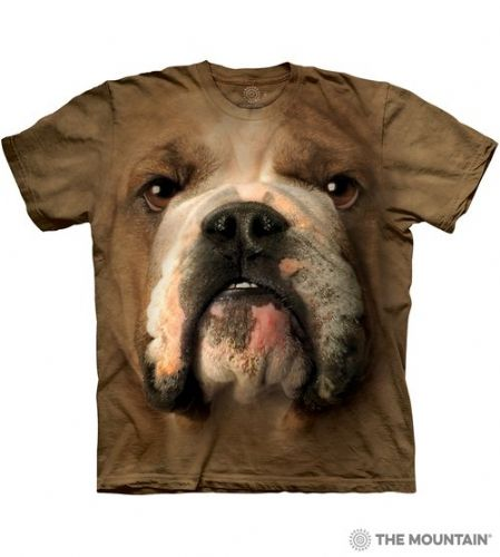 Bulldog Face T-shirt | The Mountain®